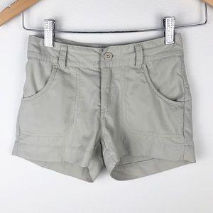 Columbia Omni Shade Khaki  Shorts Size XS 6/6X